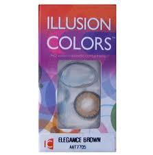 купить Цветные <b>контактные линзы</b> Illusion Colors <b>ELEGANCE</b> (<b>2</b> ...