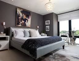 master bedroom feature wall: dark chevron flourish pattern wallpaper background custom made