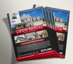 custom marketing materials 10 ea unlimited revisions open house flyer 3