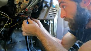 car trouble our naked dave fixing a wiring issue in the troopy
