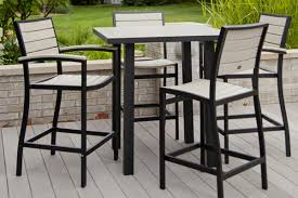 bar height patio chair: impressive on bar height patio table and chairs bar height outdoor patio table bar winsome bar height patio set furniture decor ideas