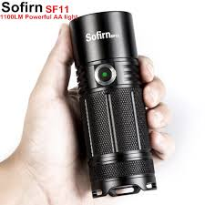 Sofirn SF11 Powerful LED flashlight Tactical AA Torch Cree XPL ...