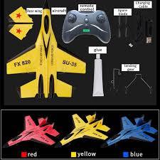 Jual H-IKEA Su <b>SU35</b> Remote Control Glider <b>Children's Toy Electric</b> ...