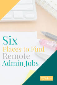 17 best ideas about administrative jobs interview 6 ways to more work from home administrative jobs