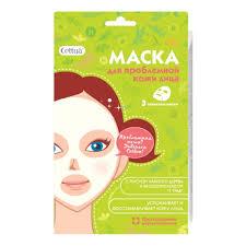 <b>Маска для</b> проблемной кожи лица <b>CETTUA</b>, 3 шт — купить в ...