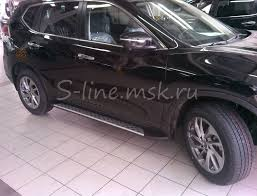 <b>BMW</b> стиль <b>пороги</b> на Nissan X-Trail T32 купить в S-LINE.MSK.RU