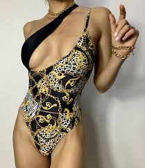 2021 <b>New</b> Women's <b>One</b>-<b>piece Swimsuit</b> Sexy Leopard Print ...