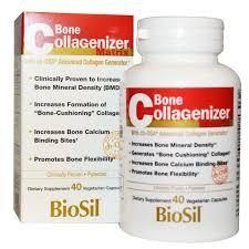 <b>BioSil</b> by Natural Factors, <b>Bone Collagenizer Ultra</b>, 40 Vegetarian ...