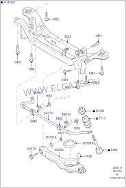 Устройство и ремонт задней <b>подвески</b> (Р). (с. 48) - Ford Focus 1