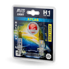 Комплект галогенных <b>ламп AVS ATLAS</b> ANTI-FOG <b>H1</b> (A78618S ...