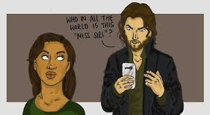 Ichabod Crane and Siri | Sleepy Hollow | Know Your Meme via Relatably.com