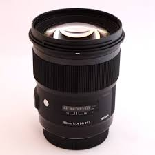 RENTAL <b>Sigma</b> Art 50mm f1.4 DG lens rental. - Camera Traders