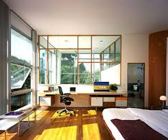 bedroom and office living in a smallish two room apartment plus kitchen and bath means our bedroom office combo pinterest feng