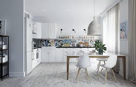 Трешка в скандинавском стиле с мебелью ИКЕА — INMYROOM