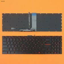 New MSI GT72 GS60 GS70 WS60 GE72 GE62 <b>Keyboard US Red</b> ...