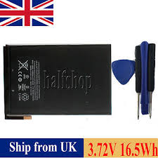 new ipad mini 1 A1445 <b>3.72V 16.5Whr 4440 mAh</b> replacement battery