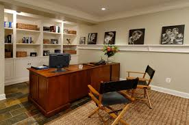 basement office ideas and get ideas to decorate your basement with exquisite appearance 17 basement home office ideas home office decorating