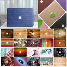 "<b>Wood Pattern Laptop</b> Hard <b>Case</b> Cover For 13"" 15"" Macbook Air/Pro ..."