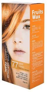 Welcos стойкая крем-<b>краска для волос Fruits</b> Wax Pearl Hair Color ...