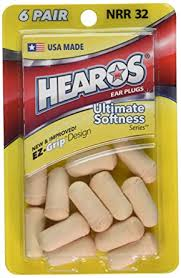 Hearos <b>Ear Plugs Ultimate</b> Softness Series, 6 Count: Amazon.co.uk ...
