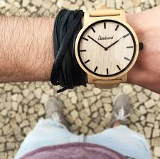 classic tan unisex wood watch acer friends wooden classic