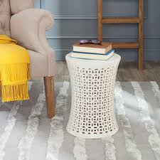 patio stool: camilla cream garden patio stool ebbd  d  daddb