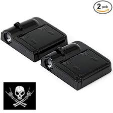 <b>2pcs</b> Wireless Car Door Led <b>Welcome</b> Laser Projector <b>Logo</b> Ghost ...