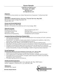 Entry Level Sales Representative Resume Resume For Your Job