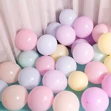 5pcs 12inch 5inch Gold Latex <b>Balloons 1st</b> Birthday Pink <b>Macaron</b> ...