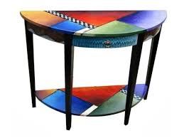 <b>Hand Painted Console Table</b> 3 | Funky painted furniture, Wood ...