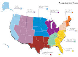 salary survey results knowledge center average salaries by region