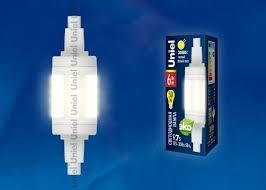 <b>Лампа</b> светодиодная <b>Uniel</b> (Юниел) (ul-00001554) <b>r7s 6w</b> 3000k ...