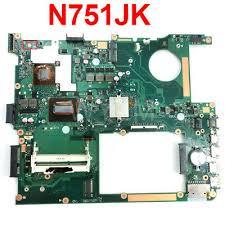 N751JK Laptop Motherboard For ASUS N751JK N751J N751 ...