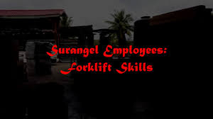 surangel employees forklift skills surangel employees forklift skills