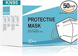 Kingfa KN95 Face Mask Non-NIOSH Respirator 5-Ply ... - Amazon.com