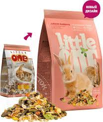 Купить <b>Корм</b> для грызунов <b>Little One</b> для молодых кроликов 900г с ...