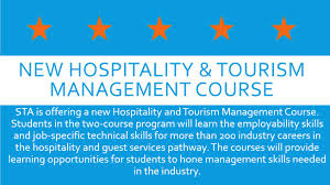 sta to offer new hospitality management course summit sta to offer new hospitality management course