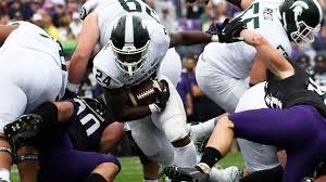 Blog recap: Michigan State beats up Northwestern, 31-10