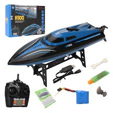 H100 <b>2.4G RC High Speed</b> Racing <b>Boat</b> 180° Flip Radio Controlled ...