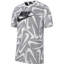 <b>Nike</b> Sportswear <b>Hand</b> Drawn All Over Print Серый, Dressinn ...