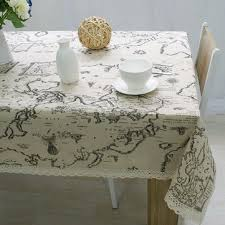 world map tablecloth <b>high quality lace tablecloth</b> decorative elegant ...