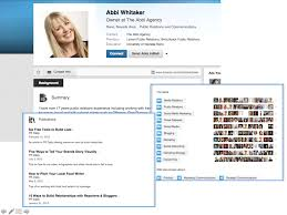 examples of highly impactful linkedin profiles last but not least abbi whitaker39s profile represents one final example b2b marketers can review for completing a thorough and well developed linkedin