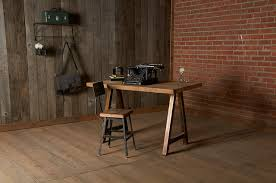 reclaimed wood desks and home office furntiure modern home office chicago home office