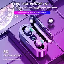 IPX5 Waterproof Touch Mini <b>F9 TWS</b> Wireless Stereo <b>Bluetooth</b> 5.0 ...