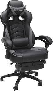 RESPAWN 110 Gaming Chair, Gray: Furniture & Decor - Amazon.com