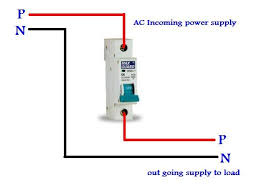 single pole circuit breaker wiring diagram single mcb connection diagram for single pole circuit breaker on single pole circuit breaker wiring diagram