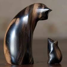 милые ДЕРЕВЯННЫЕ скульптуры | Деревянная скульптура ...