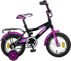 Велосипед <b>Novatrack 12 COSMIC черный</b> 123 <b>COSMIC</b>.BK5 ...