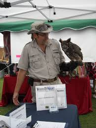 palm city fall fest and an unexpected or writebynight owl tim brown of treasure coast wildlife center