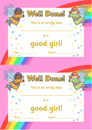 special certificate excellent work award certificate twinkl resources >> good girl award certificates >> classroom printables for pre school
